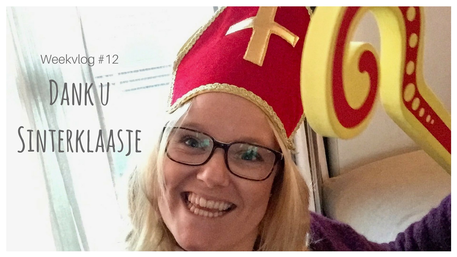 Weekvlog 13 Dank u Sinterklaasje