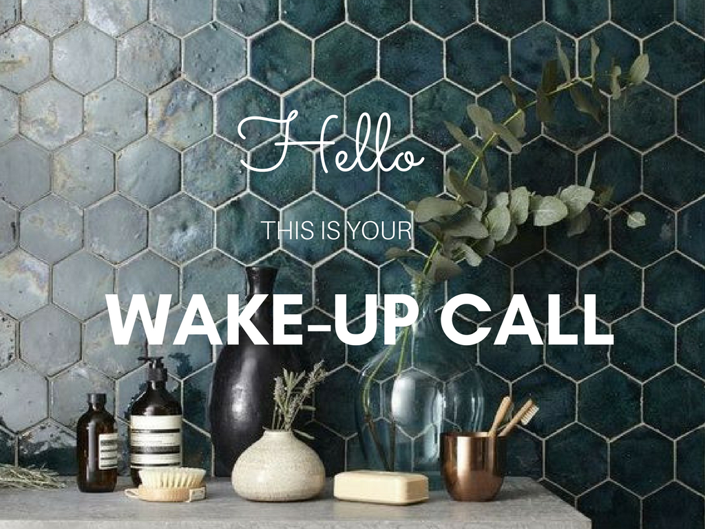 Hello this is your wake-up call | Toutes La Vie