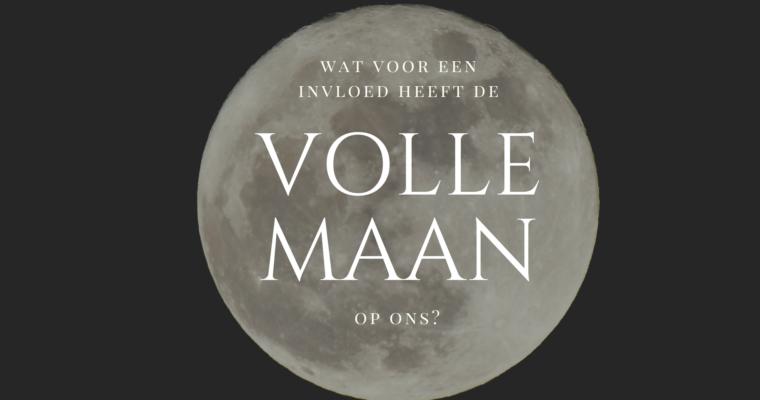 Wat voor een invloed heeft de volle maan op ons?