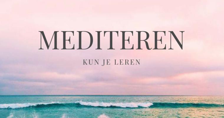 Aanmelden Mediteren kun je leren