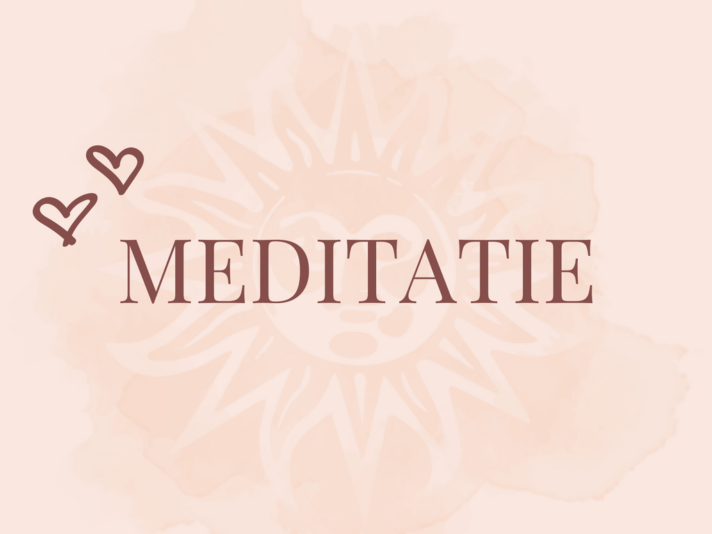 MEDITATIE | Toutes La Vie