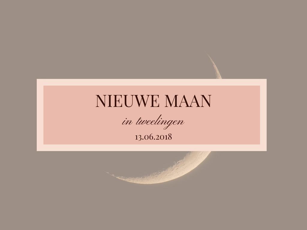 Nieuwe maan in tweelingen 13.06.2018