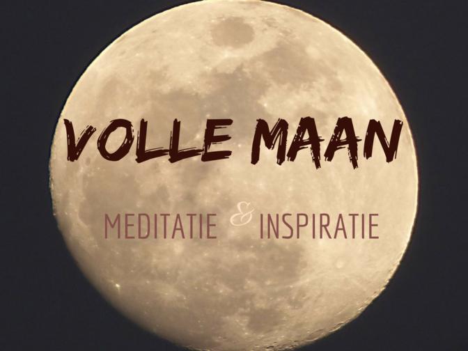 VOLLE MAAN Meditatie & Inspiratie