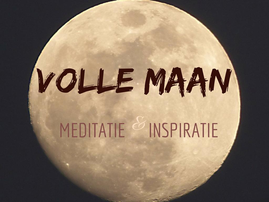 Volle Maan Meditatie en Inspiratie Avond