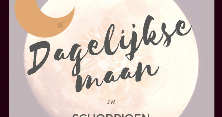 Dagelijkse Maan in Schorpioen 12, 13, 14, 15 september 2018
