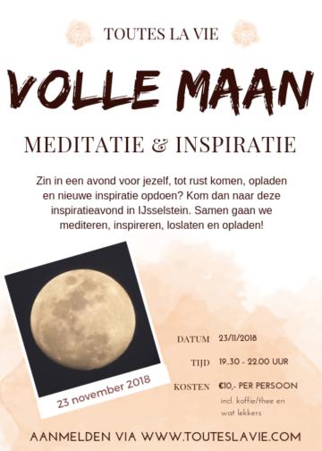 Volle Maan Meditatie & Inspiratie  |  Toutes La Vie